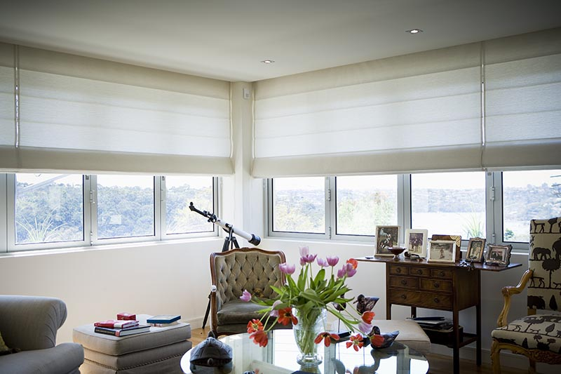 interior roman blinds