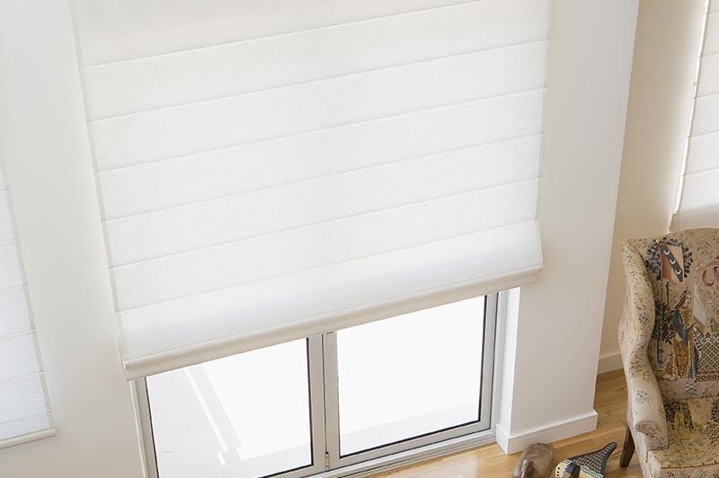 interior roman blinds
