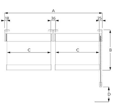 double (connected) system