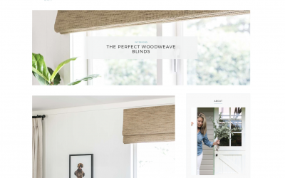 Our Woodweave Blinds Are Perfect – Just Ask Nicki from Cottonwood Interiors!