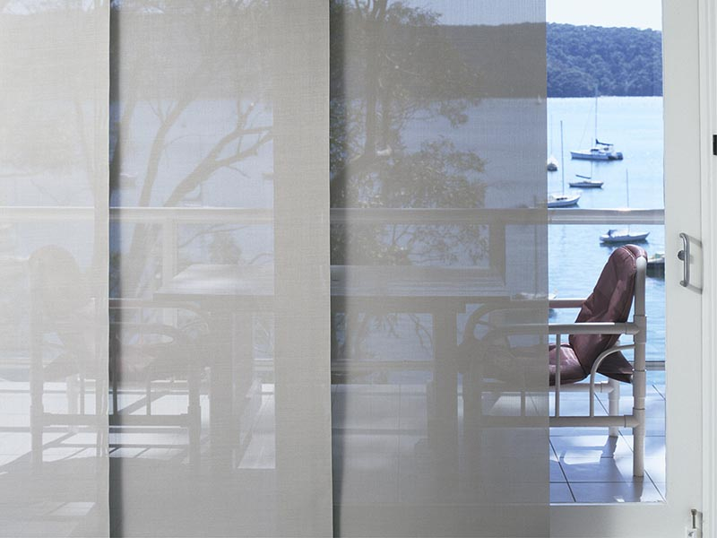 sunscreen panel blinds