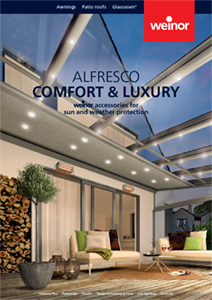 Alfresco comfort and living