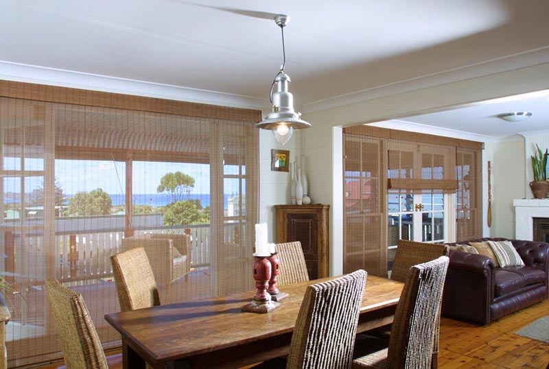 chinois woven bamboo blinds