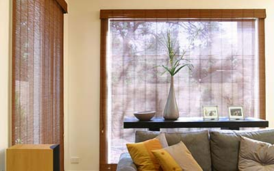 Chinois bamboo blinds