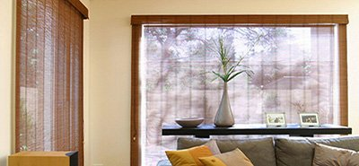 Chinois Bamboo blind