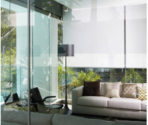 custom made interior roller blinds