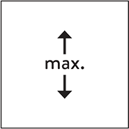 dimensions max vertical