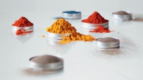 embedding of pigment
