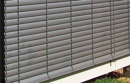 Outdoor Aluminium Venetian Blinds Warema External Venetians