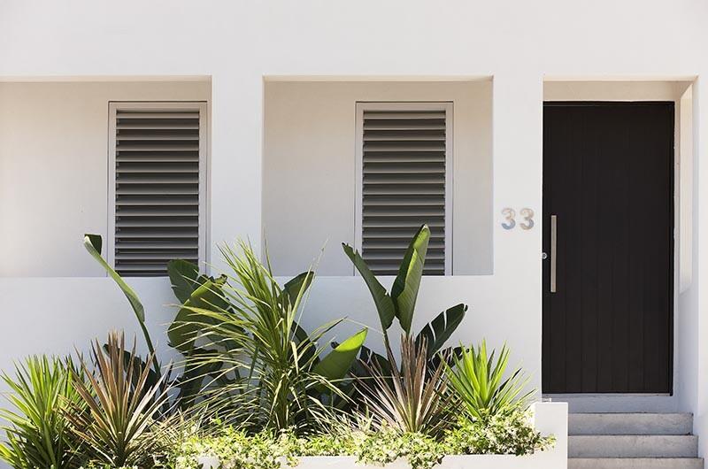 external shutters open
