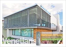 Exterior Metal Venetians brochure download