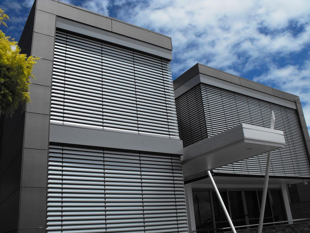 Outdoor Aluminium Venetian Blinds Warema External Venetians