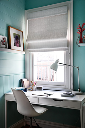 woven timber blinds