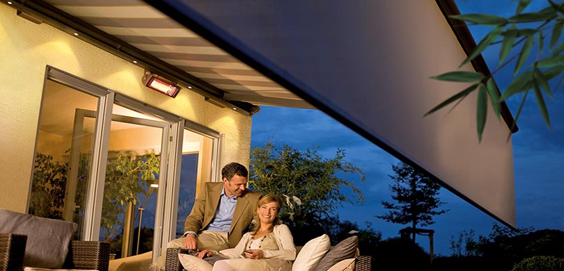 LED light bars for awnings