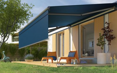 Intelligent Motorised Folding Arm Awnings Powered by Somfy Motors