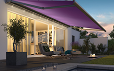 motorised exterior blinds & awnings