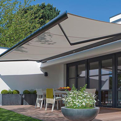 motorised outdoor blinds & awnings
