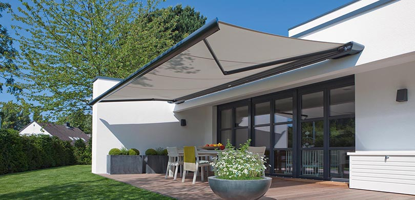 Motorised Blinds + Awnings