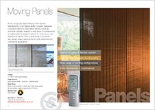 Moving Panel brochure