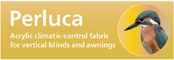 Perluca - acrylic climatic-control fabric for vertical blinds and awnings