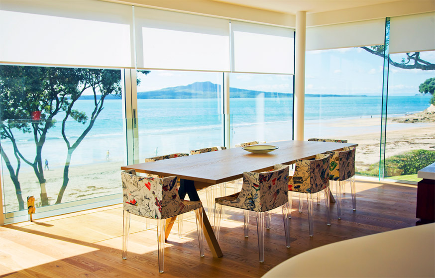 Motorised Blinds for Interior and Exterior Use