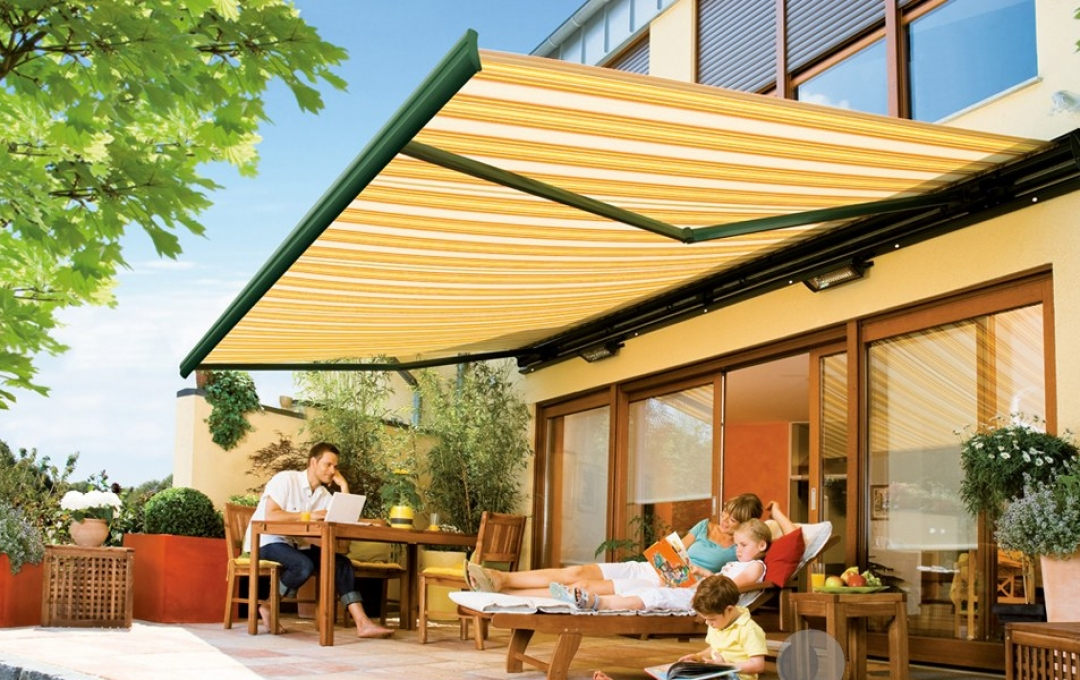 Retractable Awnings Semina Semi Cassette Folding Arm Awning