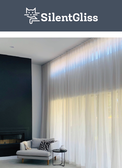 quiet curtain track systems
