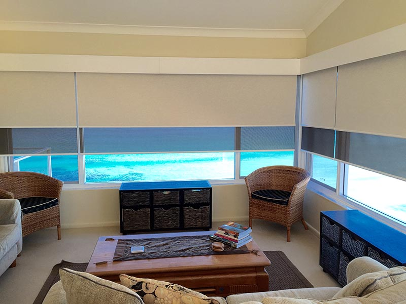 custom made roller blinds for high rise units