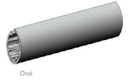 roller blinds base bar profile