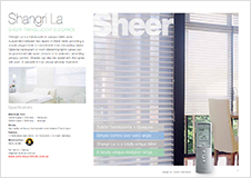 Shangri La Blinds brochure