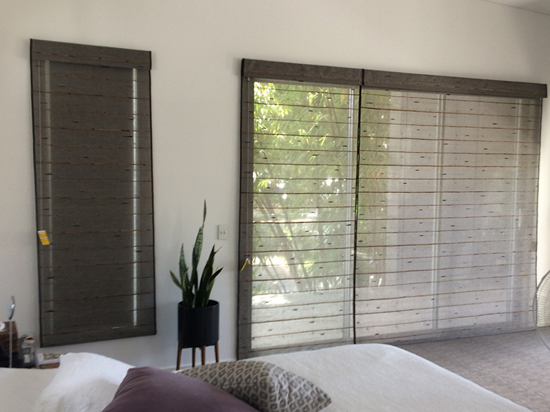 silk road woven roman blinds