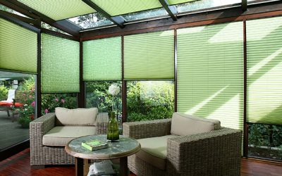 New Energy-Saving Cellular Blinds and Interior Pleated Blinds