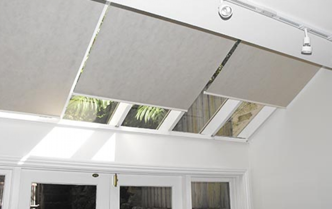... Triangle Blinds; Blinds For Skylights