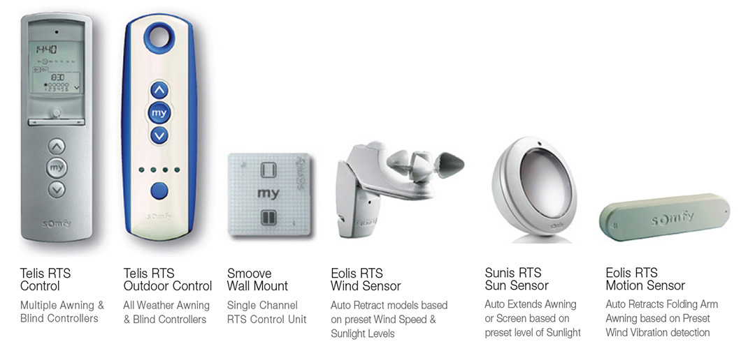 somfy automation controllers