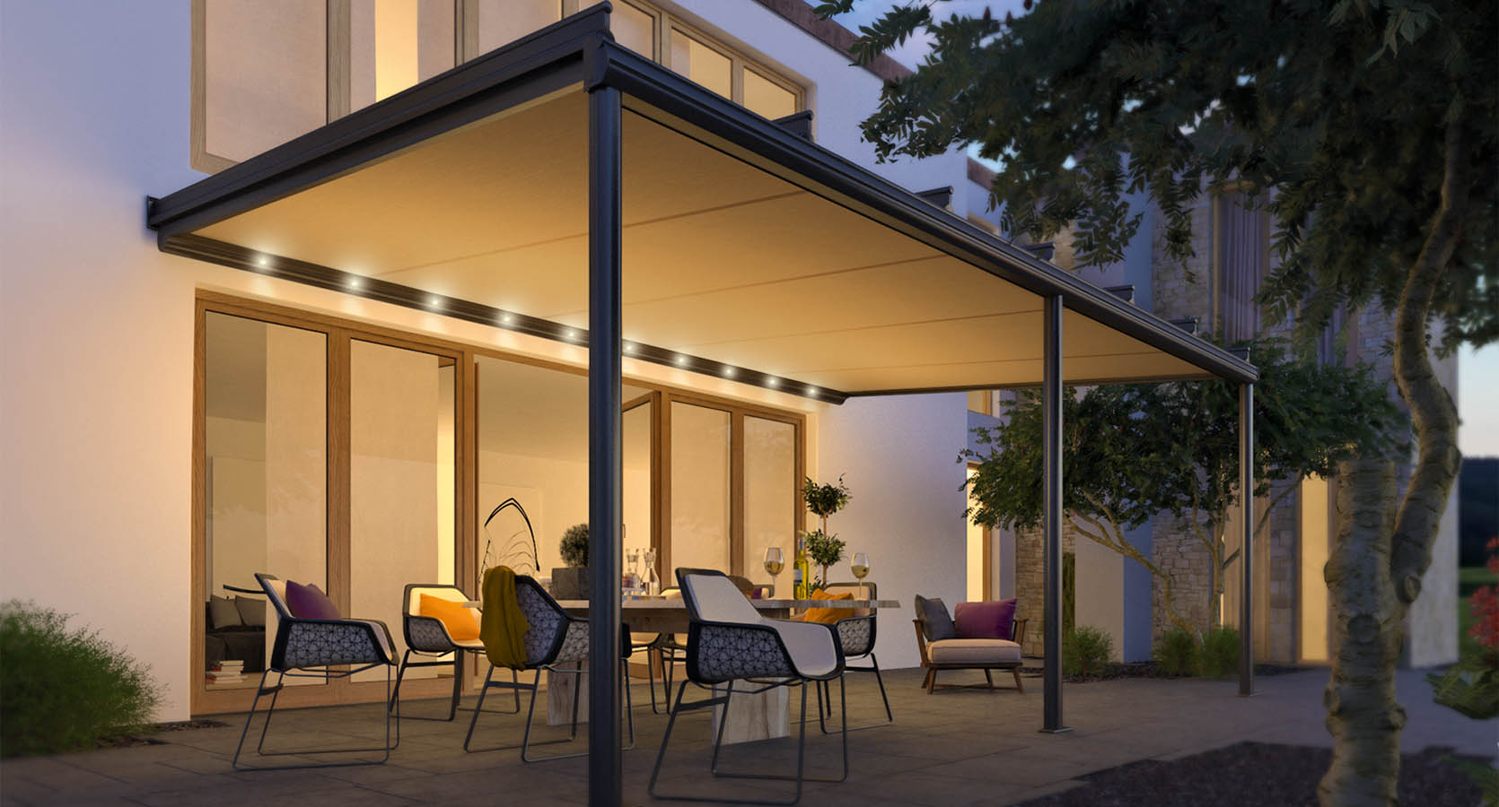 Conservatory Awnings Are Perfect For Heat Reduction In