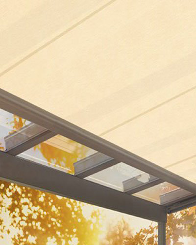 Sotezza undermount skylight blinds