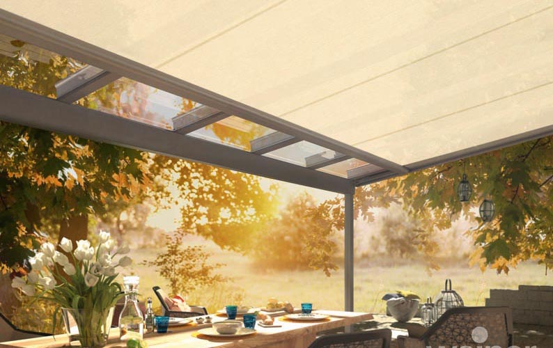 Deck Awnings Under Mounted Conservatory Awning Sottezza Ii