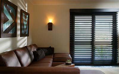 Timber interior shutters