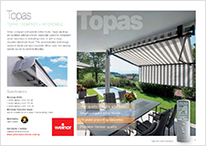 Weinor Topas brochure download