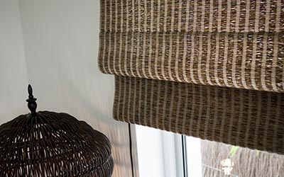 Urban natural weave blinds