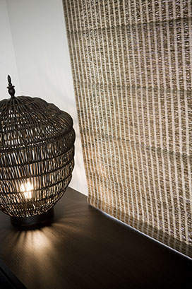 natural fabric weave blinds
