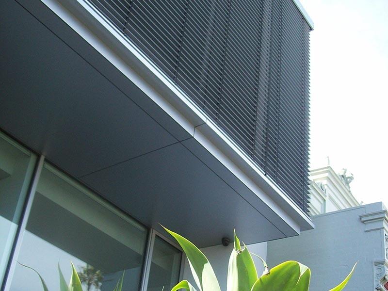 exterior metal venetians