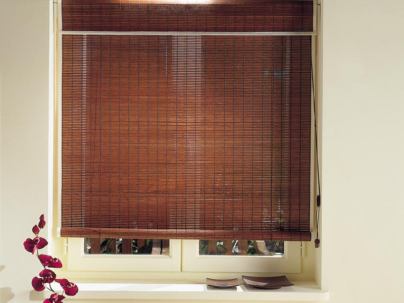 natural timber blinds