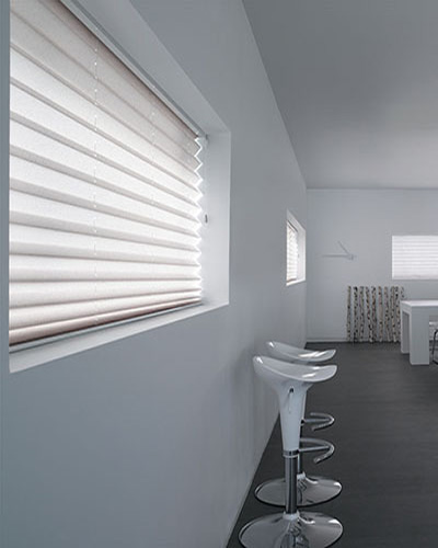 XL50 Pleated blinds